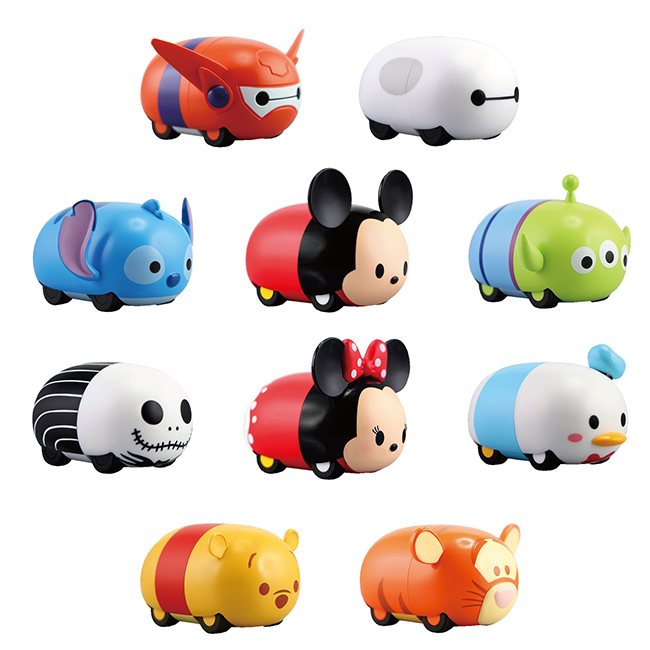OTHERS / Tsum Tsum Spinning Car Collection 1